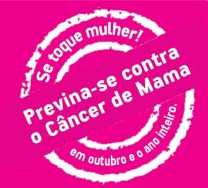 Outubro é o Mês de Combate e Prevenção ao Câncer de Mama