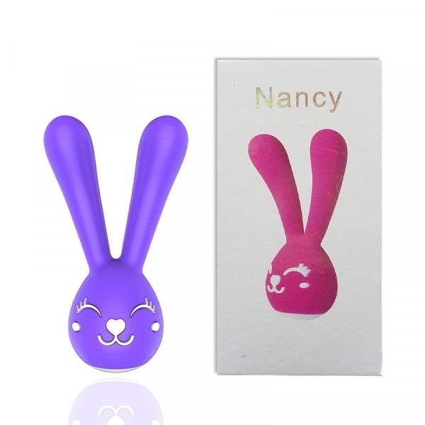 Vibrador e Estimulador de Clitóris Recarregável – Nancy