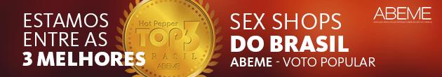 Ficamos Entre as 3 Melhores Sex Shops do Brasil