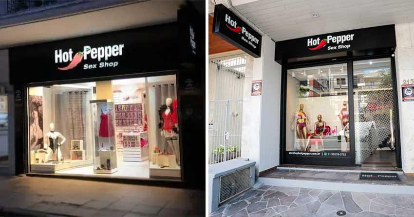 Lojas Físicas da Hot Pepper