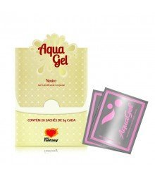 AquaGel - Lubrificante Neutro - Sachê