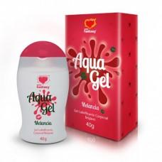 AquaGel - Lubrificante Beijável Melancia