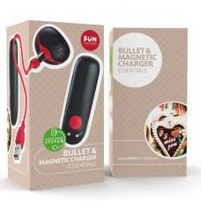 Vibrador Bullet Carregador Magnético Fun Factory