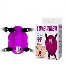 Vibrador Estimulador de Clitóris com Cinta Ajustável LOVE RIDER