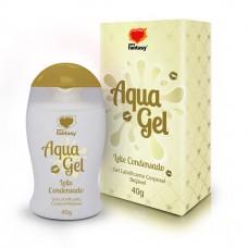 AquaGel - Lubrificante Beijável Leite Condensado