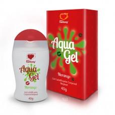 AquaGel - Lubrificante Beijável Morango