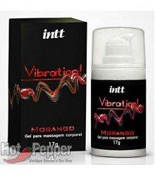 Vibrador em Gel Vibration Morango - Intt