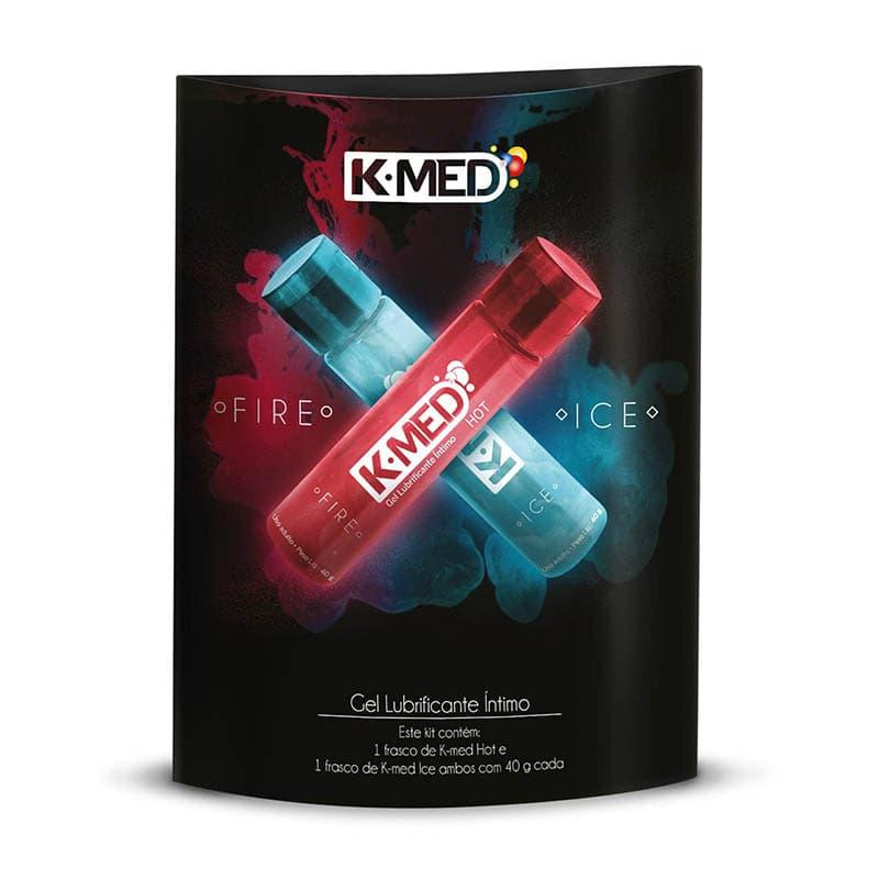 Kit de Lubrificantes K-Med Fire e Ice