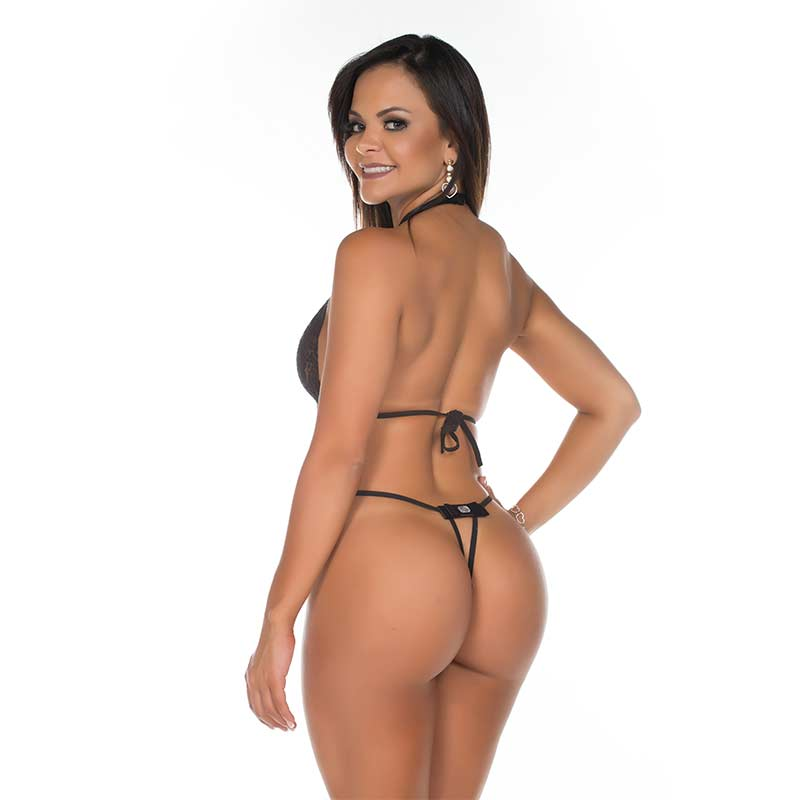 Body de Renda Nefertite Preto