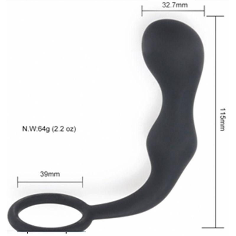 Estimulador de Próstata com Anel