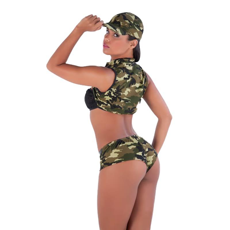 Fantasia Militar com Short