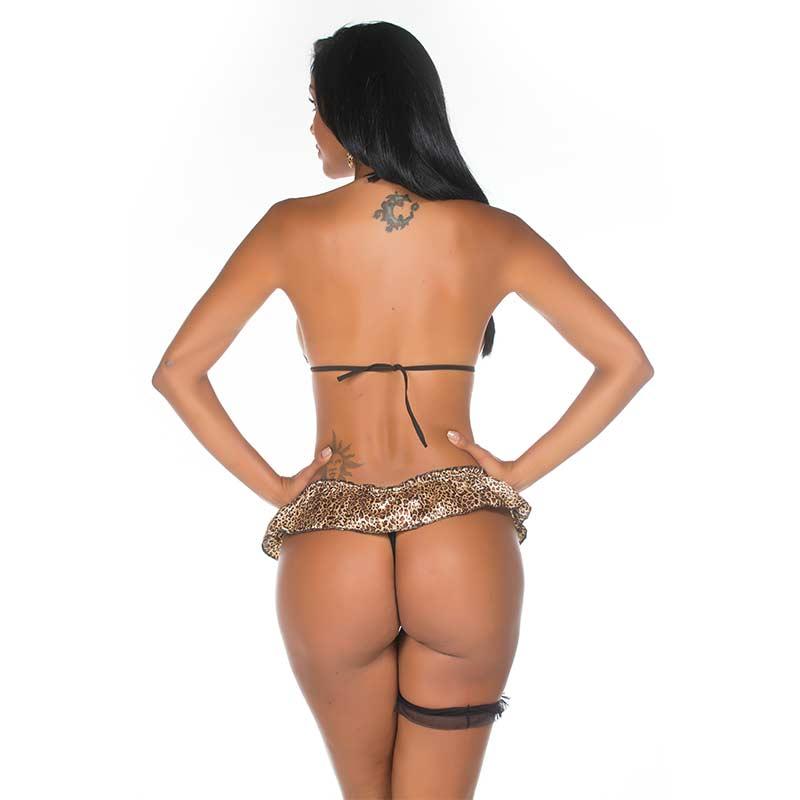 Mini Fantasia Selvagem Sexy