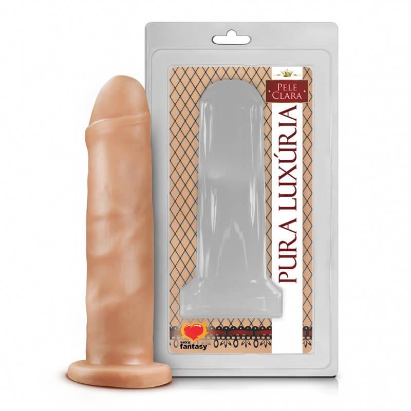 uma pênis de silicone com características realistas impressionantes
