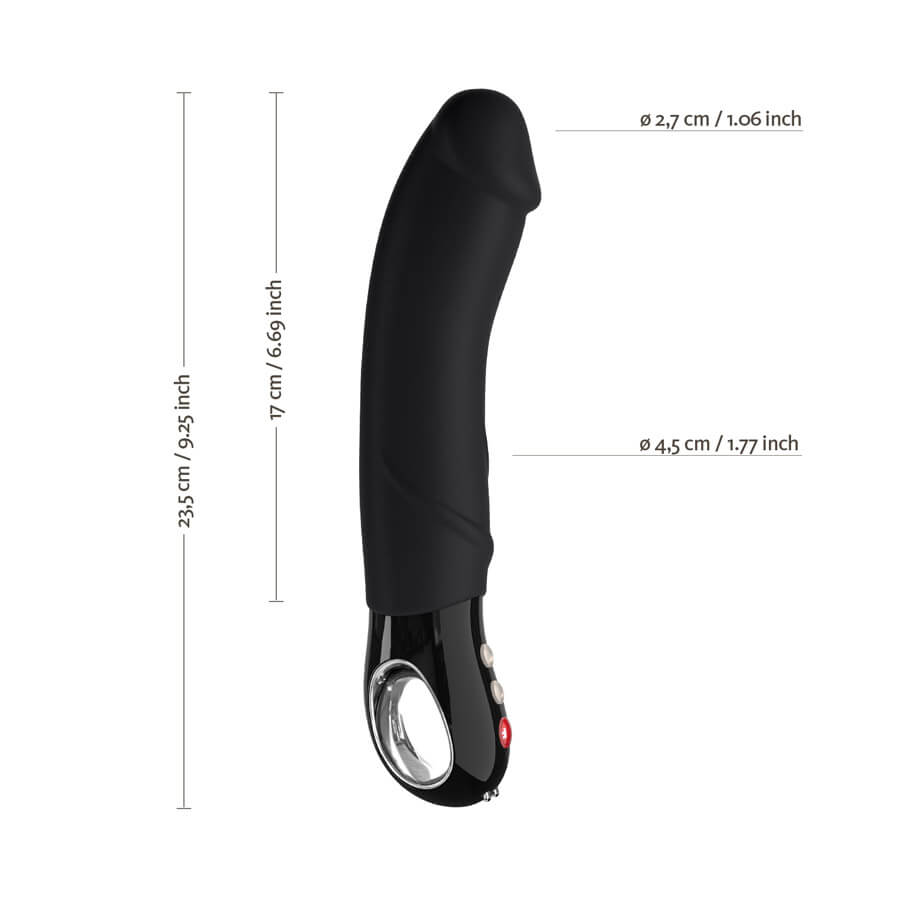 Vibrador Penetrador Big Boss Fun Factory Black Line