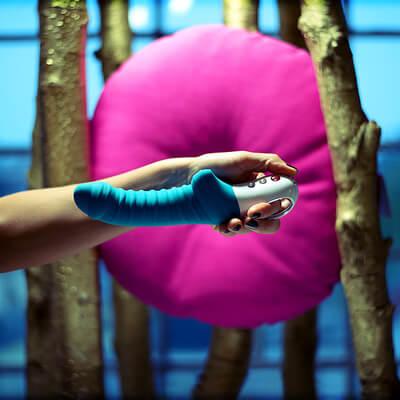Vibrador Penetrador Tiger G5 Fun Factory Azul