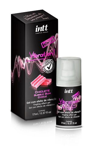 Vibration Chiclete Extra Forte - Gel Excitante que Vibra 17 ml Intt
