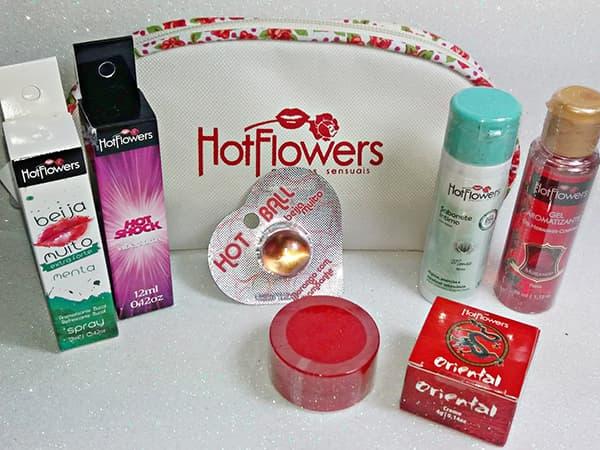 Hot Flowers Produtos Sensuais