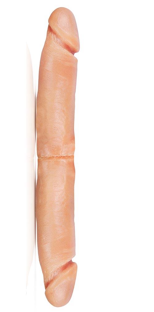 Pênis com Ponta Dupla - 30,5 x 4,5 cm